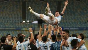 El día soñado de Messi