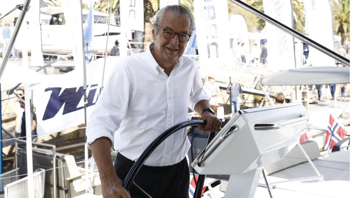 Luis Conde preside el Saló Nàutic de Barcelona desde 2009