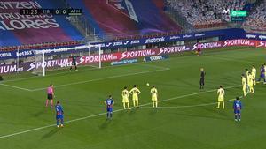 El gol de Dmitrovic al Atlético... ¡de penalti!