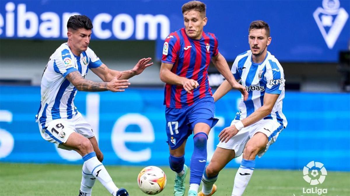 El resumen del partido entre el Eibar y el Leganés