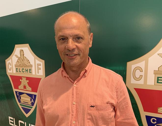 El presidente del Elche, Joaquín Buitrago