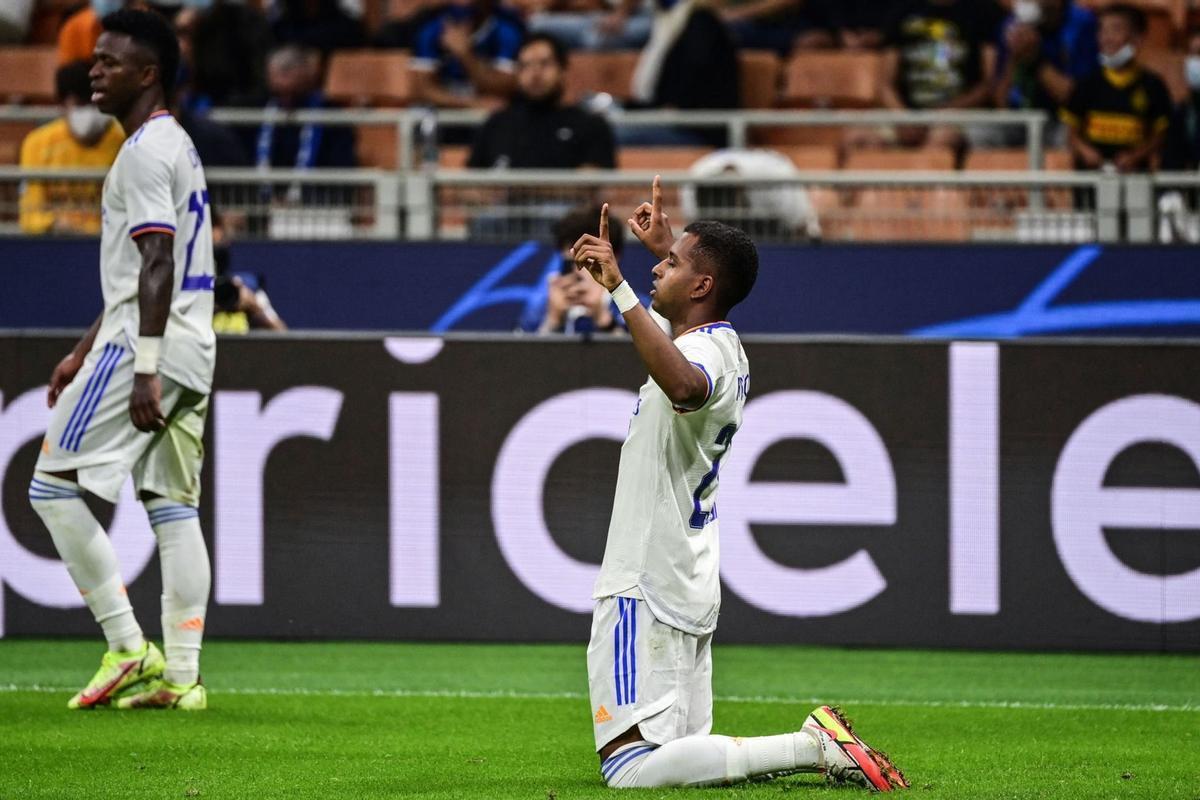 Rodrygo salvó al Real Madrid in extremis