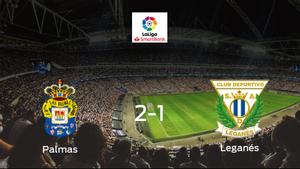 Tres puntos para el equipo local: Las Palmas 2-1 Leganés