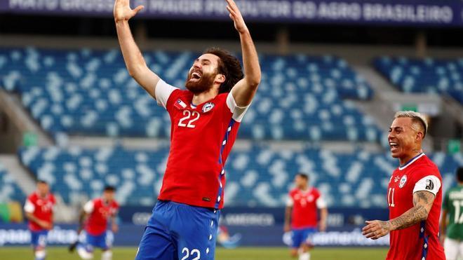 El resumen de la victoria de Chile ante Bolivia