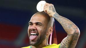 El oro olímpico es el último título ganado por Dani Alves