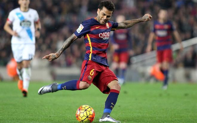 Alves se va del Barça