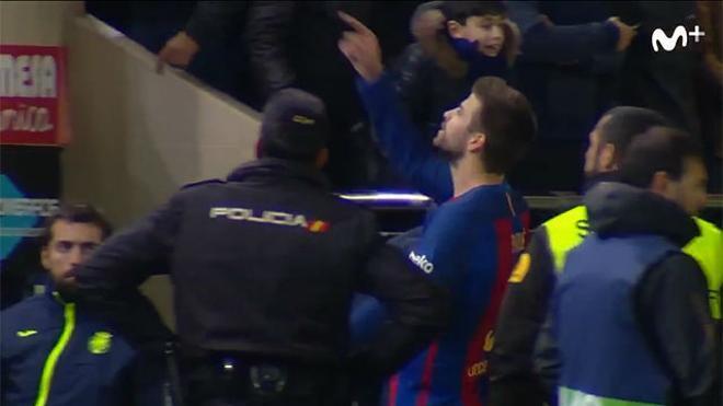 Piqué se encaró con Tebas desde el césped - Resumen Villarreal - FC Barcelona
