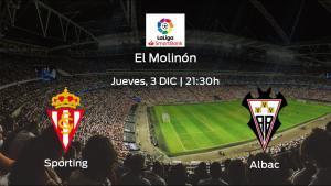 Previa del encuentro: el Real Sporting recibe al Albacete