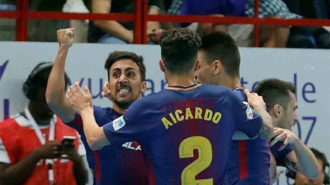 El Barcelona Lassa de fútbol sala a ya conoce su nuevo calendario