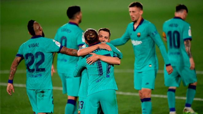 El Barça ganó en La Cerámica