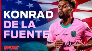 Todo lo que debes saber de Konrad de la Fuente, la perla americana del Barça