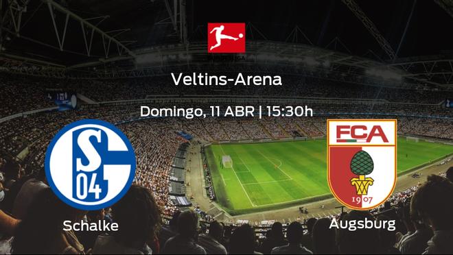 Previa del partido: el Schalke 04 recibe al FC Augsburg en la vigésimo octava jornada