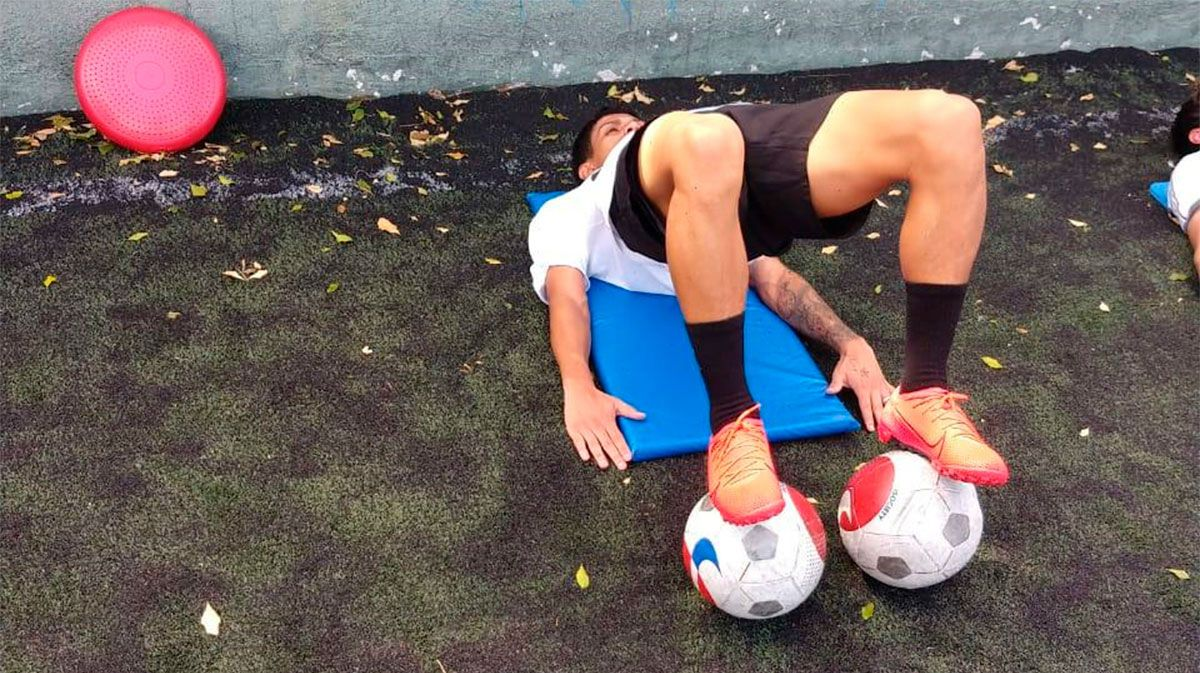 Así entrena Gustavo Maia en Brasil preparando su llegada al Barça B