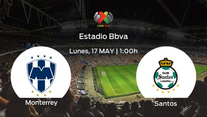 Previa del partido: el Monterrey recibe al Santos Laguna