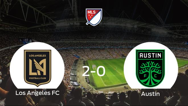 El Los Angeles FC gana por 2-0 al Austin FC