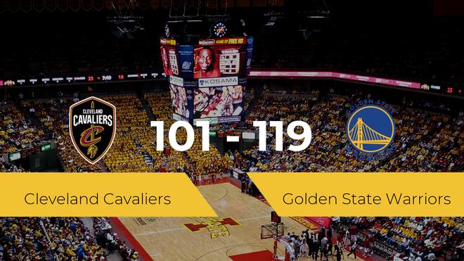 Golden State Warriors se impone por 101-119 frente a Cleveland Cavaliers