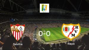 El Sevilla Femenino y el Rayo Vallecano Femenino concluyen su enfrentamiento en el Jesús Navas sin goles (0-0)