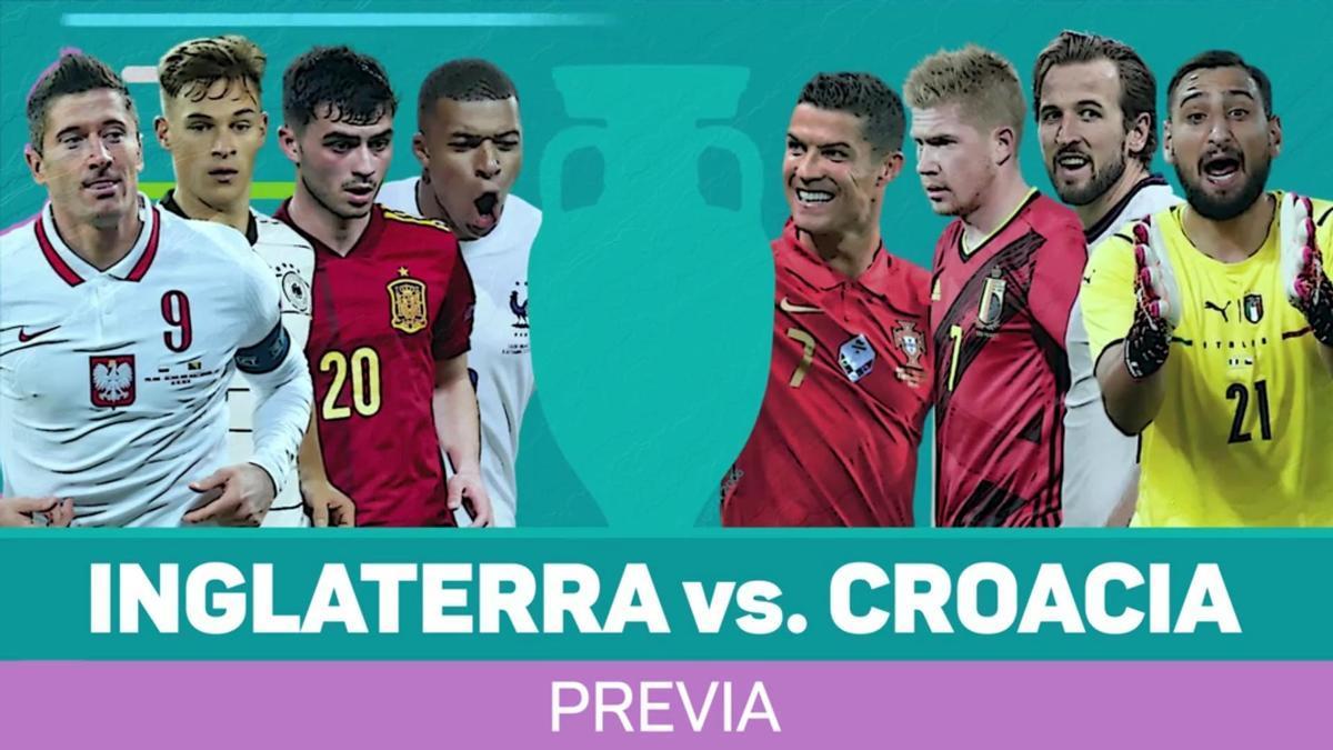 Previa: Inglaterra vs. Croacia