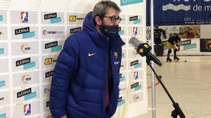 Edu Castro, muy satisfecho con sus jugadores