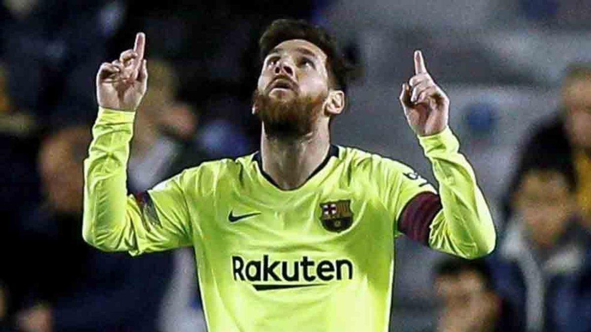 Messi destaca la importancia de jugar en el Barcelona