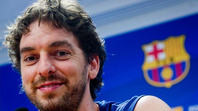 Pau Gasol se incorporará en breve a la disciplina del Barça