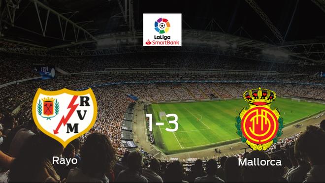 El Mallorca deja sin sumar puntos al Rayo Vallecano (1-3)