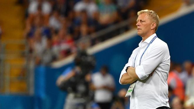 Heimir Hallgrímsson estuvo siete años con la selección de Islandia, tras entrar en 2011 como ayudante del sueco Lars Lagerbäck