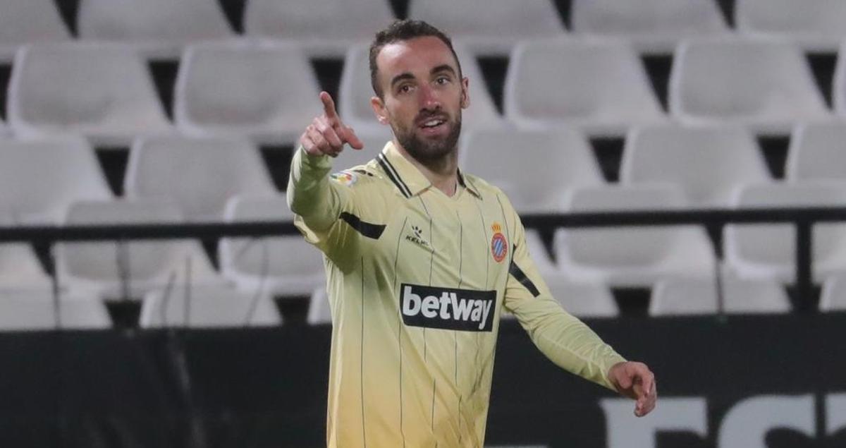 Darder celebrando uno de sus goles