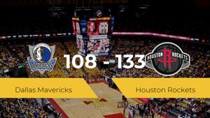 Houston Rockets se impone por 108-133 frente a Dallas Mavericks