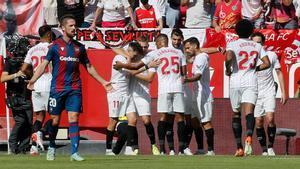 Oda a los goles en el triunfo hispalense en el Sánchez Pizjuán
