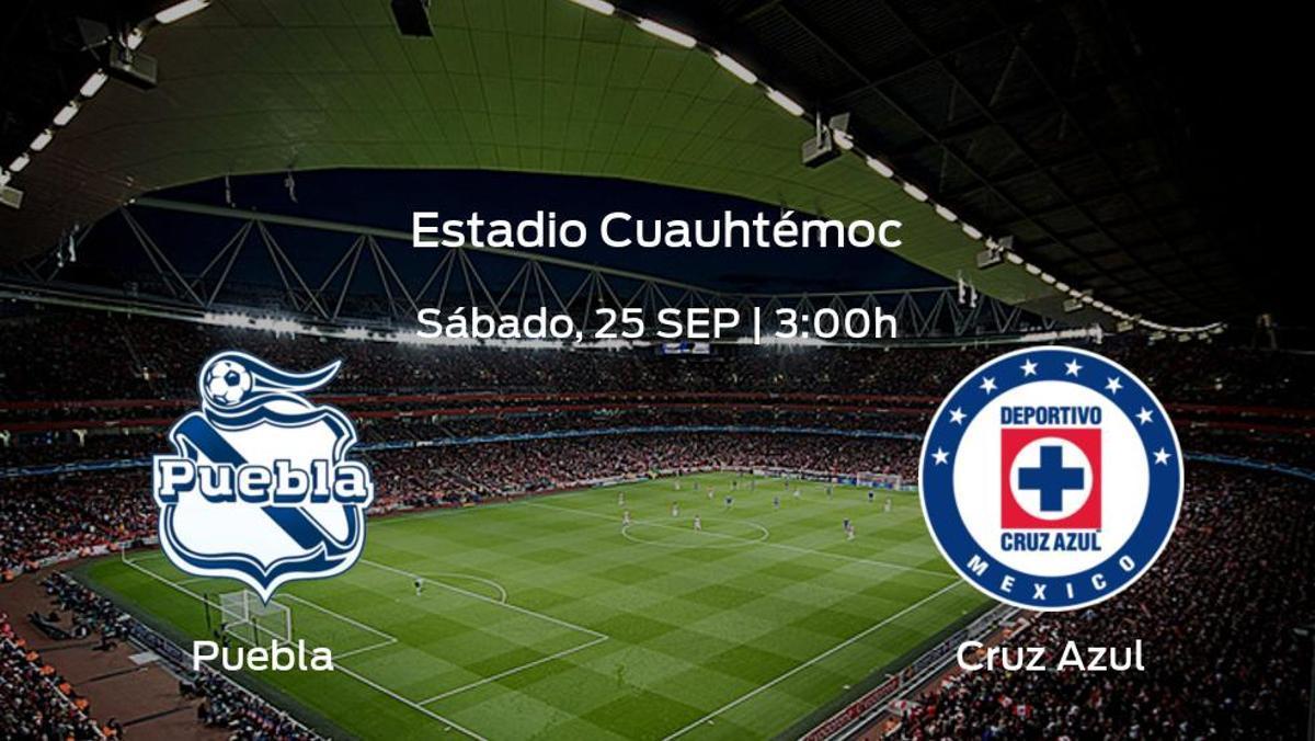 Previa del encuentro: Puebla - Cruz Azul