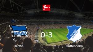 El Hoffenheim consigue una goleada en el estadio del Hertha BSC (0-3)