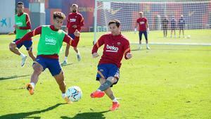 Barça prepara el primer partido de LaLiga ante el Villarreal