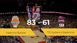 El Valencia Basket se impone por 83-61 frente al TD Systems Baskonia