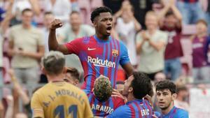 Ansu Fati volvió por lo alto con un gol en la victoria del Barcelona sobre el Levante