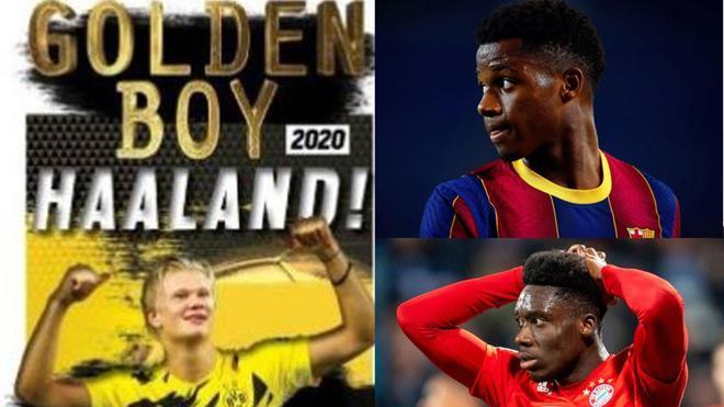 Haaland, Golden Boy 2020