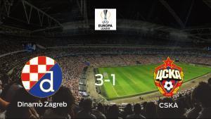 El Dinamo Zagreb se queda con la victoria ante el CSKA Moscú (3-1)