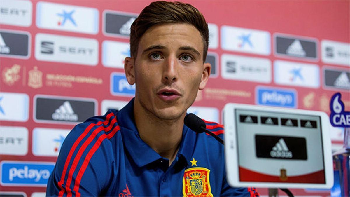 Pau Torres en su primer día con la selección: Es el sueño de cualquier niño