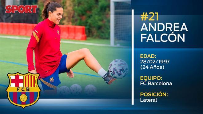 Andrea Falcón (Barça Femenino)