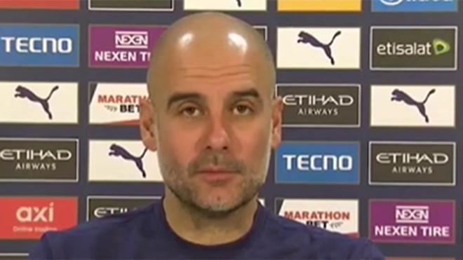 Guardiola: Cavani es uno de los jugadores a los que más admiro