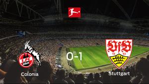 El Stuttgart gana 0-1 al Colonia y se lleva los tres puntos