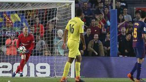 LALIGA | FC Barcelona - Villarreal (5-1): Así fue la exhibición de Cillessen