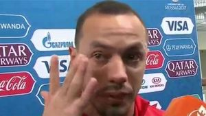 Las lágrimas de Marcelo Díaz
