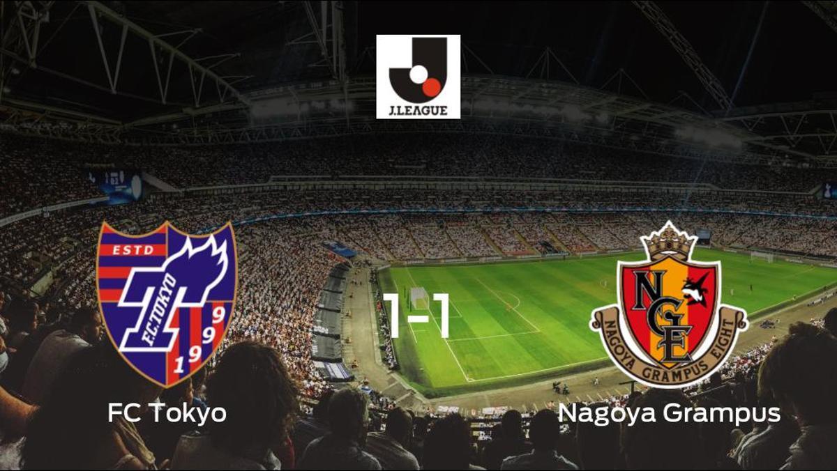 El FC Tokyo salva un punto frente al Nagoya Grampus (1-1)