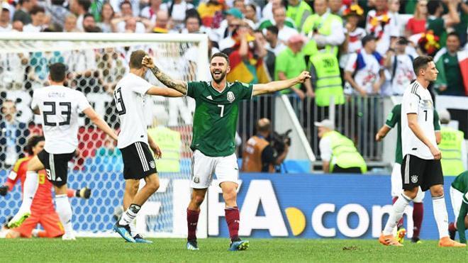 Rusia 2018 | México dio la sorpresa y se impuso por la mínima a Alemania