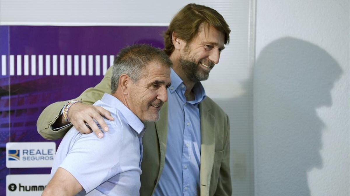 Paco Herrera llega al Sporting tras desvincularse del Valladolid