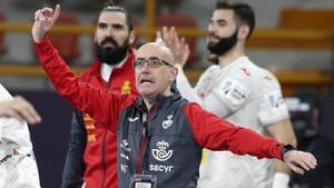 Jordi Ribera valoró positivamente la trabajada victoria ante Polonia
