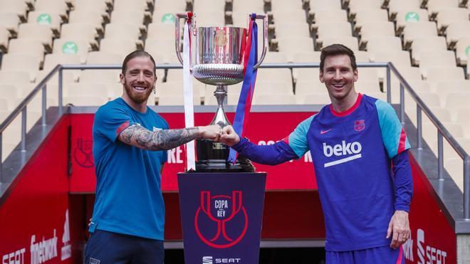 Muniain analiza cómo llega el Athletic a la final de Copa ante el Barça