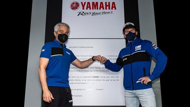 Garrett Gerloff , piloto de Yamaha en Superbikes