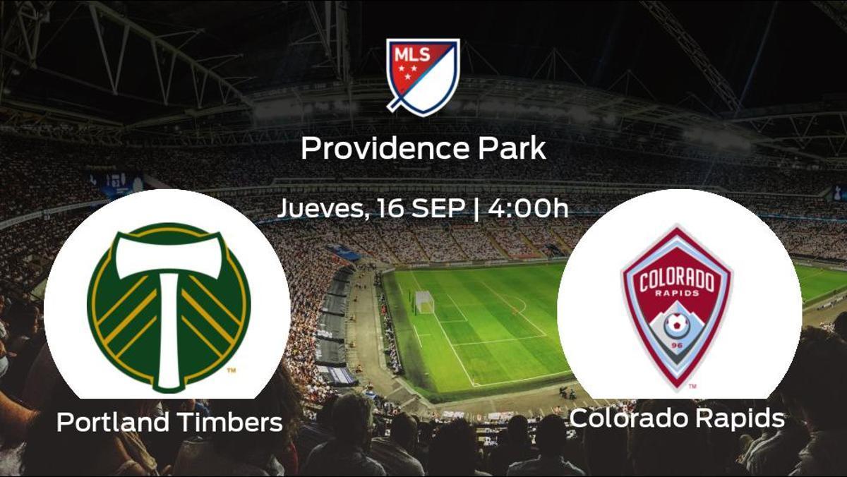 Previa del partido: Portland Timbers - Colorado Rapids